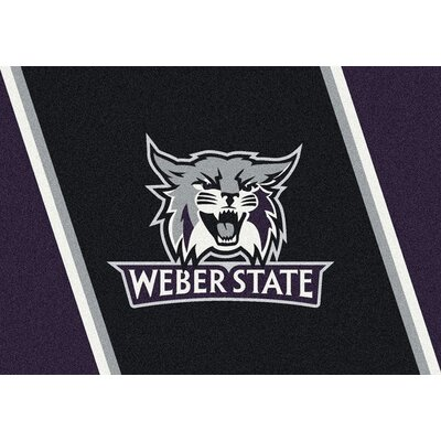 Collegiate Weber State Wildcats Doormat Mat Size: Rectangle 310 x 54