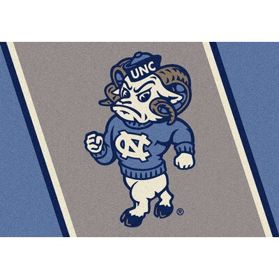 Collegiate University of North Carolina Tar Heels Mat Rug Size: 310 x 54