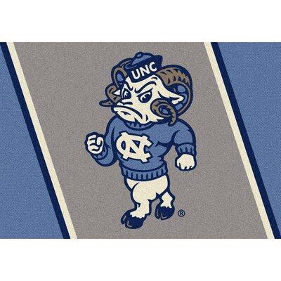 Collegiate University of North Carolina Tar Heels Mat Rug Size: 28 x 310