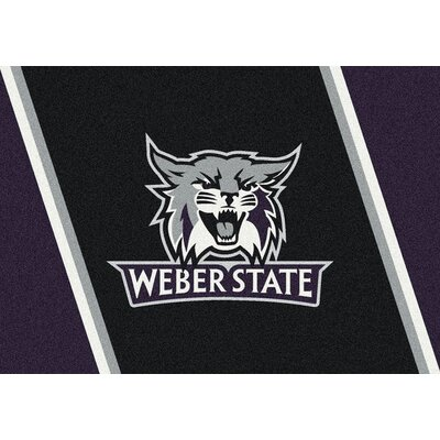Collegiate Weber State Wildcats Doormat Mat Size: Rectangle 54 x 78