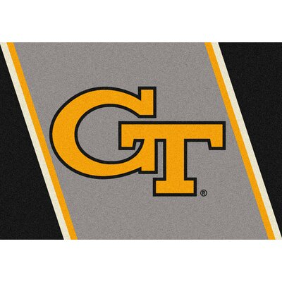 Collegiate Georgia Tech Jackets Mat Rug Size: 54 x 78