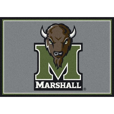 Collegiate Marshall University Thundering Herd Doormat Rug Size: Rectangle 28 x 310