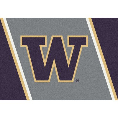 Collegiate University of Washington Huskies Mat Rug Size: 28 x 310