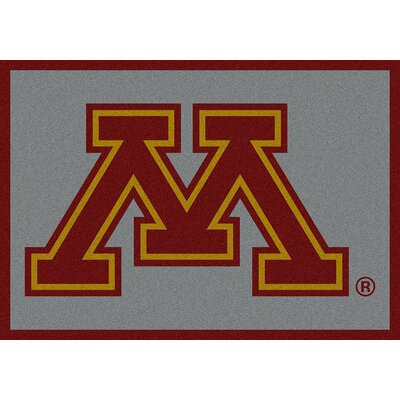 Collegiate University of Minnesota Golden Gophers Doormat Mat Size: Rectangle 54 x 78