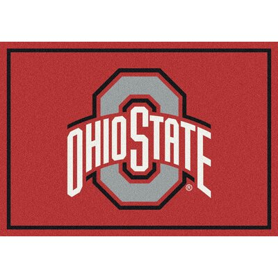 Collegiate Ohio State University Buckeyes Doormat Mat Size: Rectangle 28 x 310