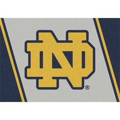 Collegiate University of Notre Dame Fighting Irish Mat Rug Size: 54 x 78