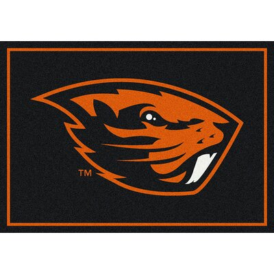 Collegiate Oregon State Beavers Doormat Mat Size: Rectangle 54 x 78