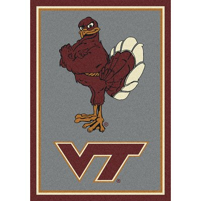 Collegiate Virginia Tech Hokies Mat Rug Size: 310 x 54