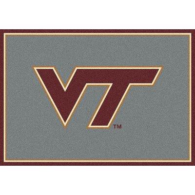 Collegiate Virginia Tech Hokies Mat Rug Size: 54 x 78