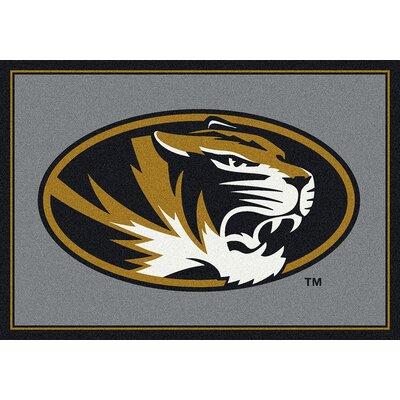 Collegiate University of Missouri Tigers Mat Rug Size: 54 x 78