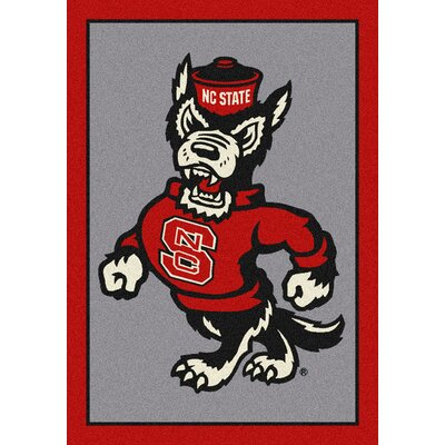 Collegiate North Carolina State University Wolfpack Mat Rug Size: 28 x 310
