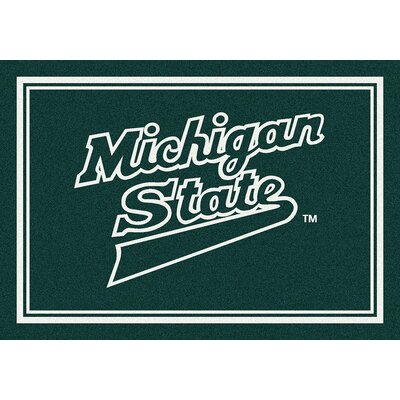Collegiate Michigan State University Spartans Mat Rug Size: 54 x 78