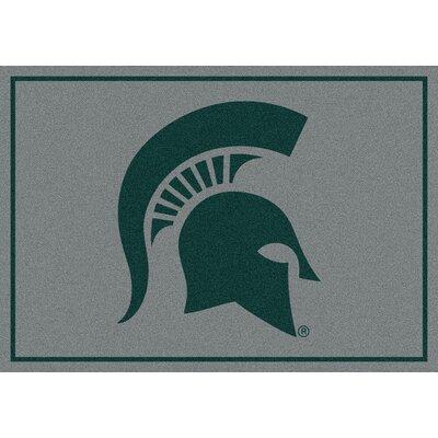 Collegiate Michigan State University Spartans Mat Rug Size: 28 x 310