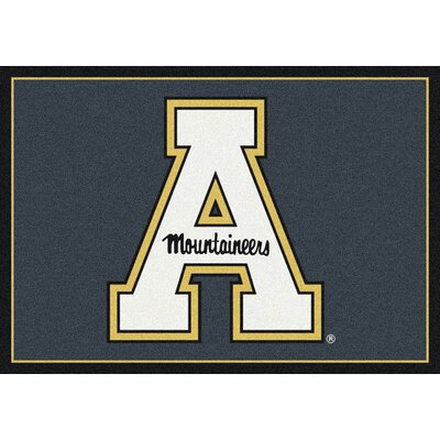 Collegiate Appalachian State University Mountaineers Mat Rug Size: 54 x 78