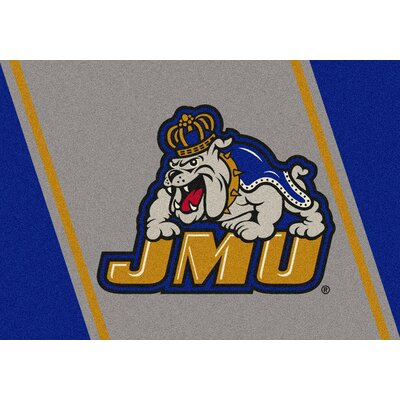 Collegiate James Madison University Dukes Doormat Rug Size: Rectangle 54 x 78