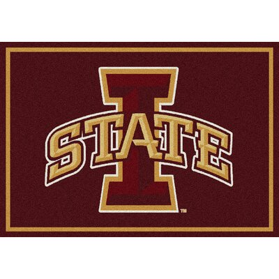 Collegiate Iowa State University Cyclones Doormat Mat Size: Rectangle 310 x 54