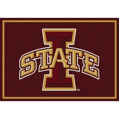 Collegiate Iowa State University Cyclones Doormat Mat Size: Rectangle 28 x 310