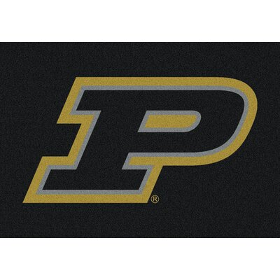 Collegiate Purdue University Doormat Mat Size: Rectangle 28 x 310