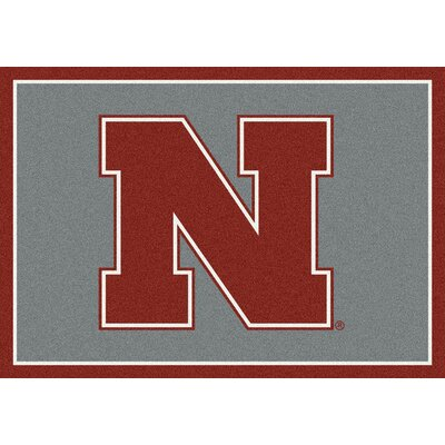 Collegiate University of Nebraska Huskers Doormat Mat Size: Rectangle 28 x 310