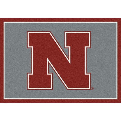 Collegiate University of Nebraska Huskers Mat Rug Size: 54 x 78