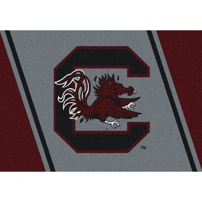Collegiate University of South Carolina Gamecocks Doormat Mat Size: Rectangle 28 x 310