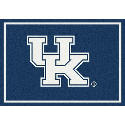 Collegiate University of Kentucky Wildcats Mat Rug Size: 54 x 78