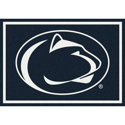 Collegiate Penn State University Doormat Mat Size: Rectangle 54 x 78