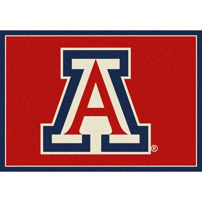 Collegiate University of Arizona Wildcats Mat Rug Size: 54 x 78