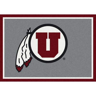 Collegiate University of Utah Utes Mat Rug Size: 28 x 310