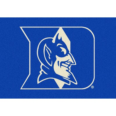 Collegiate Duke University Blue Devils Mat Rug Size: 310 x 54