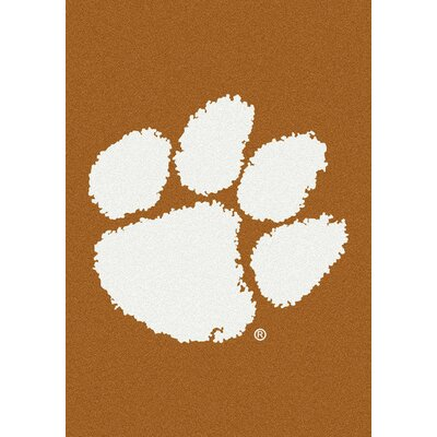 Collegiate Clemson Tigers Doormat Mat Size: Rectangle 54 x 78
