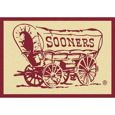 Collegiate University of Oklahoma Sooners Doormat Mat Size: Rectangle 54 x 78