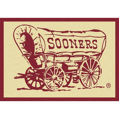 Collegiate University of Oklahoma Sooners Doormat Mat Size: Rectangle 28 x 310