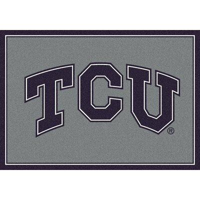 Collegiate Texas Christian University Doormat Mat Size: Rectangle 28 x 310