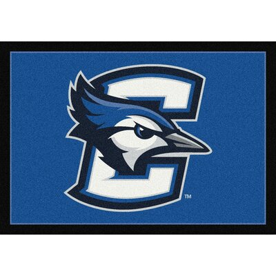 Collegiate Creighton University Bluejays Doormat Rug Size: 54 x 78