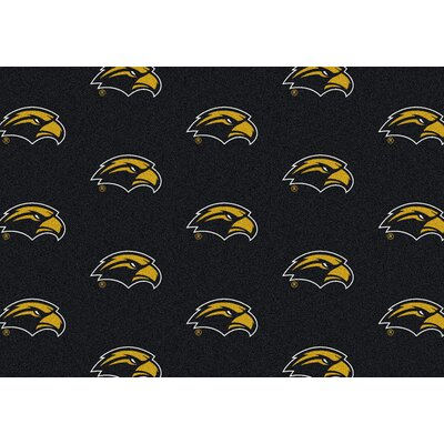 NCAA Collegiate II Southern Mississippi Novelty Rug Rug Size: 54 x 78