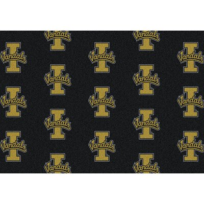 NCAA Team Repeating Novelty Rug Rug Size: Rectangle 78 x 109, NCAA Team: Idaho