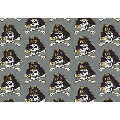Collegiate II East Carolina Pirates Rug Size: 109 x 132