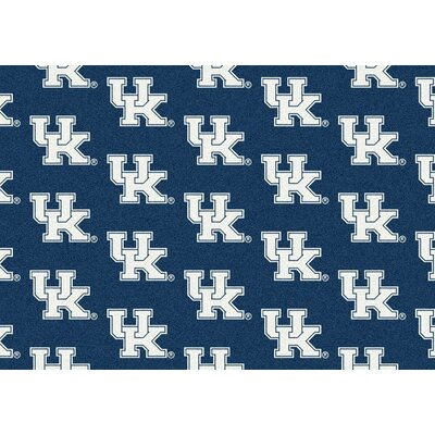 Collegiate II Kentucky Wildcats Rug Size: 109 x 132