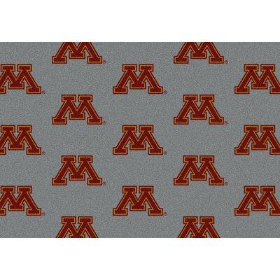 NCAA Collegiate II Minnesota Novelty Rug Rug Size: 109 x 132