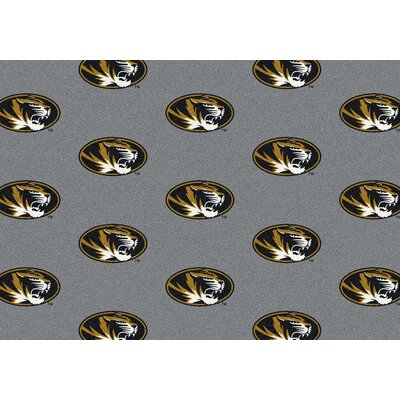 NCAA Collegiate II Missouri Novelty Rug Rug Size: 54 x 78