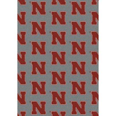 NCAA Collegiate II Nebraska Novelty Rug Rug Size: 78 x 109