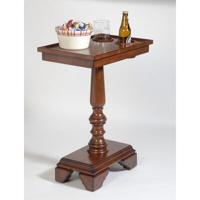 Traveller Chairside End Table Color: Mahogany