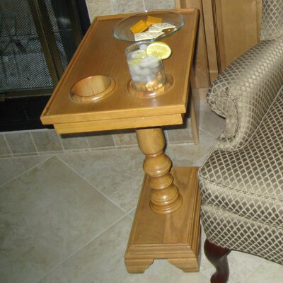Traveller Chairside End Table Color: Oak