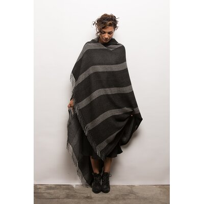 Odette Baby Alpaca Throw Color: Charcoal
