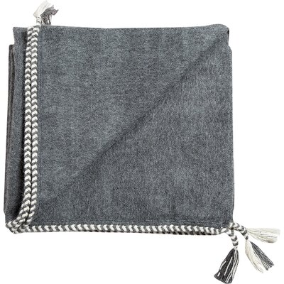 Bregoa Baby Alpaca Throw Color: Charcoal