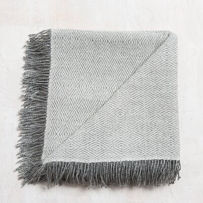 Mesa Baby Alpaca Throw Color: Ash