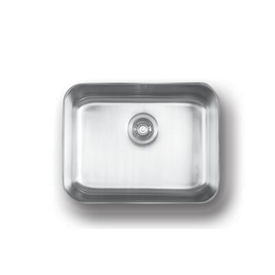Genesis 23 x 18 Large Single Bowl Kitchen Sink