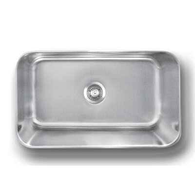 Genesis 30 x 18 Large Single Bowl Kitchen Sink