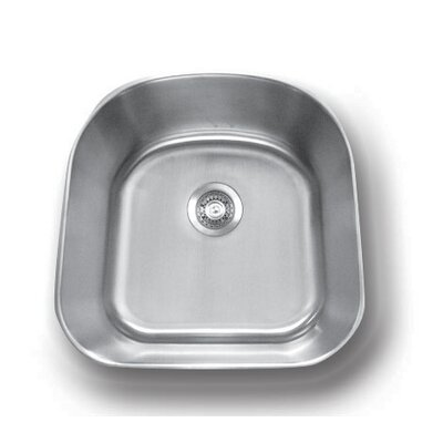 Genesis 20.88 x 23.25 Single Bowl Kitchen Sink